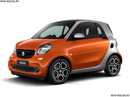 smart fortwo характеристика